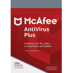 McAfee Antivirus Plus - Unlimited Devices, 1 Year (Download)