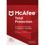 McAfee Total Protection - 1 Device, 3 Year (Download)